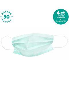 """LUCARE Mund-Nasen-Maske (""""OP-Maske"""") (3-lagig) (50 Stück)"""
