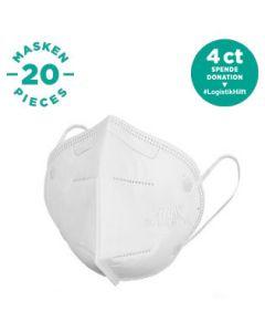 FFP2 Atemschutzmaske (20 Stück)